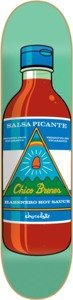 "Chocolate Chico Brenes Hot Sauce Skateboard Deck - 8"" x 31.625"""