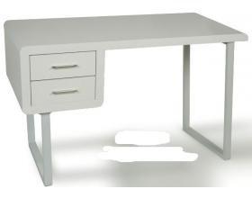 Suska escritorio y mesa de estudio en madera lacada for Mesas de escritorio amazon