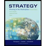 Strategy: WITH Olc AND Premium Content Card: Winning in the Marketplace, Core Concepts, Analytical Tools, Cases (0071119337) by Thompson, Arthur A.