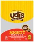 Udi\'s Gluten Free Mighty Bagel (Case of 8) [Misc.]