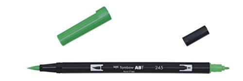 tombow-rotulador-de-punta-doble-color-verde-245-sap-green