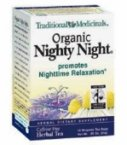 Nighty Night Tea Traditional Medicinals 16 Bag