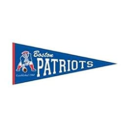 <b>New England Patriots Throwback Wool Blend Pennant</b>