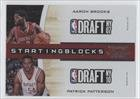 Buy Aaron Brooks Patrick Patterson Houston Rockets (Basketball Card) 2010-11 Playoff Contenders Patches Starting Blocks #23 by Playoff Contenders Patches