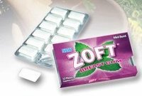 Zoft breast enhancement gum