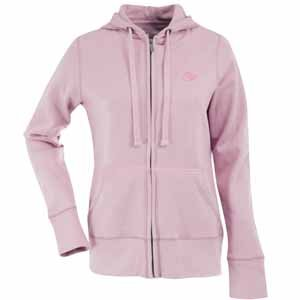 NFL Women's Kansas City Chiefs Signature Full Zip Hood (Mid Pink, Medium) Amazon.com