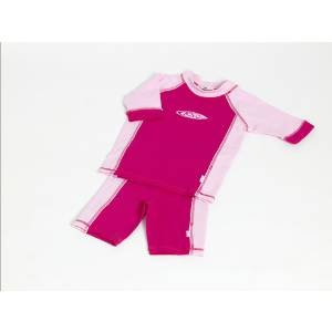 Koolsun Soft Touch 2 Piece Sunsuits - Pink - Size 6 - Age 5-6