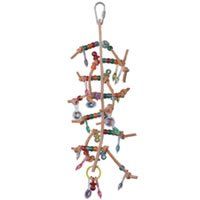 Cheap Aussie Bird Toys Sparkle Tree On Leather (B003PLBJEW)