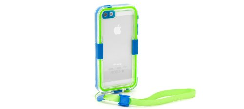 Great Price Griffin GB36204 Survivor Waterproof and Catalyst for iPhone 5 - Retail Packaging - Turquoise