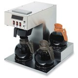 Coffee Pro Three-Burner Low Profile Institutional Coffee Maker by Coffee Pro