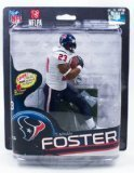 McFARLANE SPORTS PICKS NFL SERIES 32 ARIAN FOSTER HOUSTON TEXANS ACTION FIGURE by McFarlane (Arian Foster Figure compare prices)