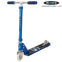 micro scooter mx park profi stunt scooter metallic blau. Black Bedroom Furniture Sets. Home Design Ideas