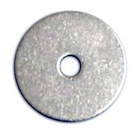 "Fender Washers 18-8 Stainless Steel - 3/8 X 1-1/4"" (.406 Id X 1-1/4 Od X .050 Thick) Qty-250 front-55184"