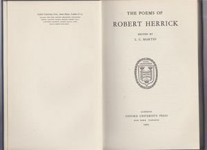 a literary analysis of the poetry by robert herrick To daffodils | robert herrick | literary analysis  the poet then addresses the  daffodils and asks them to stay until the end of the day with the evening prayer.