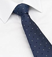 Ultimate Performance Pure Silk Textured Square Tie