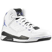 Jordan SC-2 Mens Basketball Shoes White/Bright Concord/Black 454050-108 (12 M)