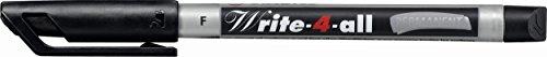 stabilo-write-4-all-permanent-marker-pen-waterproof-07mm-line-black-ref-156-46-pack-of-10