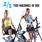2 for 1: Bike & Elliptical
