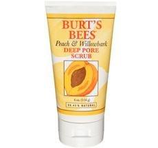 Burt's Bees Healthy Skin Peach & Willowbark Deep Pore Scrub 4 oz. Facial Care (Pack of 12)