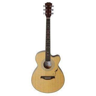 Moppi IRIN 40″ Flower Pattern Spruce Cutaway Acoustic Guitar günstig online kaufen