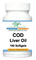 4 Bottles Cod Liver Oil Supplement 100 Softgels Not Capsules Or Tablets, Natural Vitamin A & D, Supports Bone Formation, Reproduction & Vision, - Endorsed By Dr. Ray Sahelian, M.D