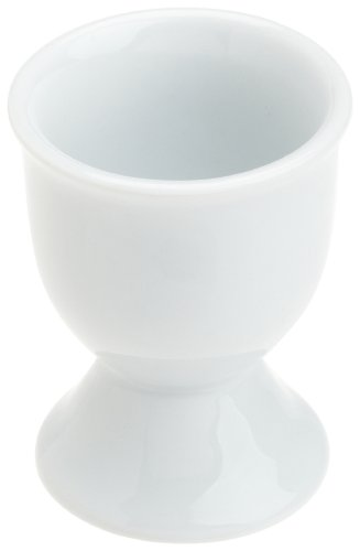 Kitchen Supply 8036 White Porcelain Single Egg Cup
