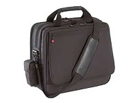 Lenovo Organizer Notebook Case - Top Loading - Adjustable Shoulder Strap - 7 Pocket - Nylon - Black