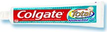 Colgate Total Clean Mint Toothpaste: Travel Size 0.75 OZ