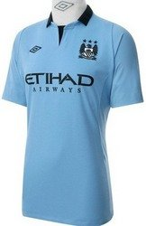 Umbro Youth Manchester City Jersey, X-Large