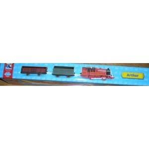 "Thomas & Friends Trackmaster Railway System ""Arthur & 2 Cars"