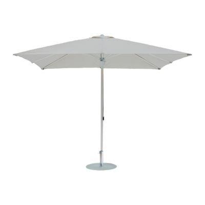 Alu-Sonnenschirm rund grauweiß ø 350 cm / 8 Rippen jetzt bestellen