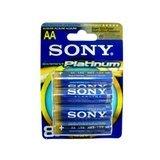 Sony Stamina Platinum battery - AA - alkaline x 8  -