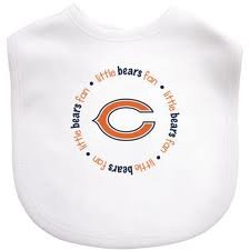 Baby Fanatic Nfl Chicago Bears Baby Fanatic Bib front-925449