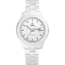 Rado Hyperchrome Automatic White Ceramic Ladies Watch R32258012