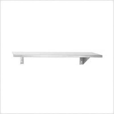 6 Deep Stainless Steel Shelf Length 24 Shopping Butterflies