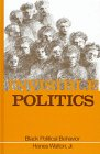 img - for Invisible Politics Black Political Behavior (Suny Series in Afro-American Society) book / textbook / text book