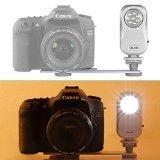 Lampara Neewer para video LED 3W 5200k con montura para Canon, Nikon, Camcorder y Cámara