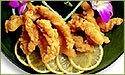 The Crab Place Premium Breaded Super Surfer Clam Strips (Country Crispy), 5 lbs (20 Pkgs of 4 oz Each)