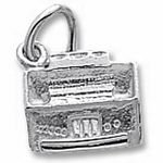 Rembrandt Charms Organ Charm - Sterling Silver
