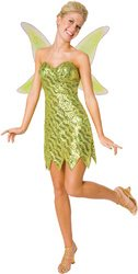 [Sequin Deluxe Tinkerbell Adult Costume - Large PROD-ID : 1444522] (Sequin Tinker Bell Adult Costumes)