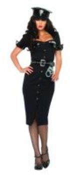 Women'S Costume: Lt. Lockdown- Small/Medium