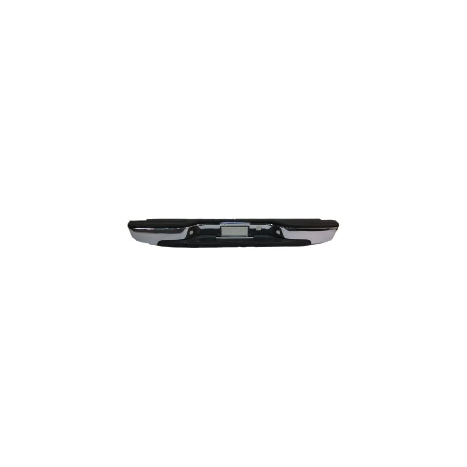 OE Replacement Chevrolet Silverado/GMC Sierra Rear Bumper Assembly (Partslink Number GM1103122) Automotive