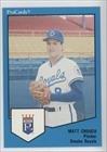 Mark Creegan Omaha Royals (Baseball Card) 1989 ProCards Minor League #1717