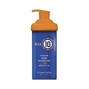 It'S A 10 Miracle Deep Conditioner Plus Keratin For Unisex, 17.5 Ounce