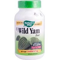 Natures Way Wild Yam Root Capsule, 425 Mg - 100 Per Pack -- 6 Packs Per Case.