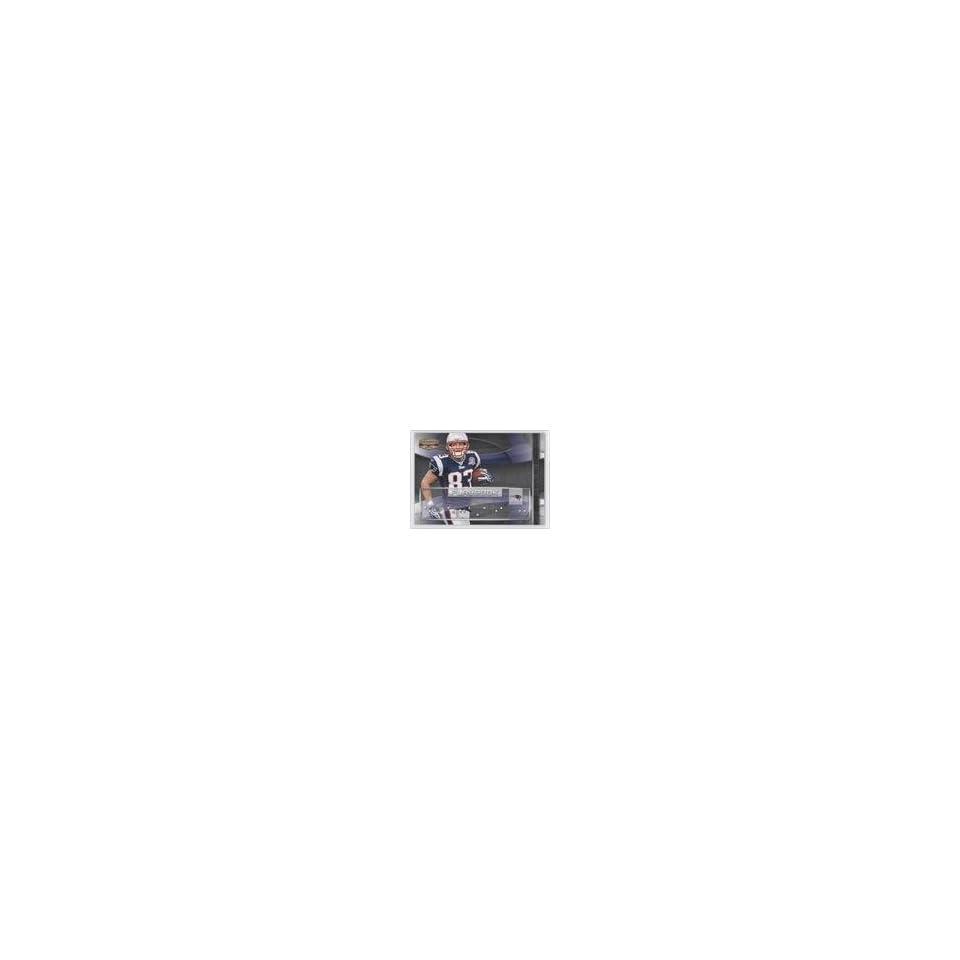 Wes Welker #80/250 (Football Card) 2009 Donruss Gridiron Gear Playbook Silver #14