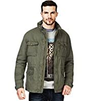 XXXL North Coast Pure Cotton Funnel Neck Field Jacket
