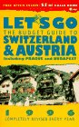 img - for Let's Go: The Budget Guide to Austria and Switzerland, 1996 book / textbook / text book