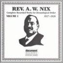 Rev A.W. Nix 1 1927-28
