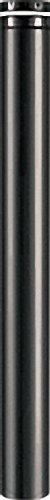 Kaminofen Zubehör Pellet-Rohr d=100mm Schwarz emailliert l=250mm